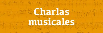 Charlas musicales