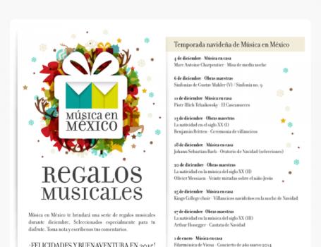 ESPECIAL. REGALOS MUSICALES