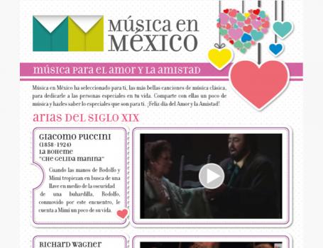 MUSICA PARA EL AMOR Y LA AMISTAD. ARIAS DEL SIGLO XIX