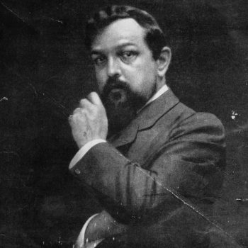 Claude Achille Debussy in a 1909 portrait.
