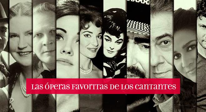 óperas favoritas de los cantantes
