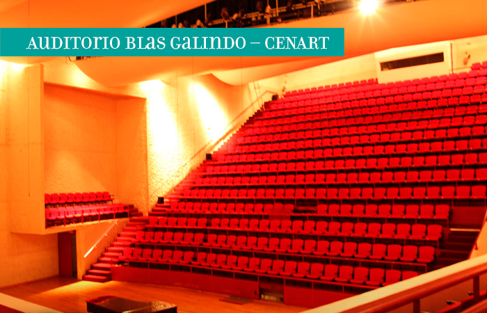 Auditorio Blas Galindo – CENART