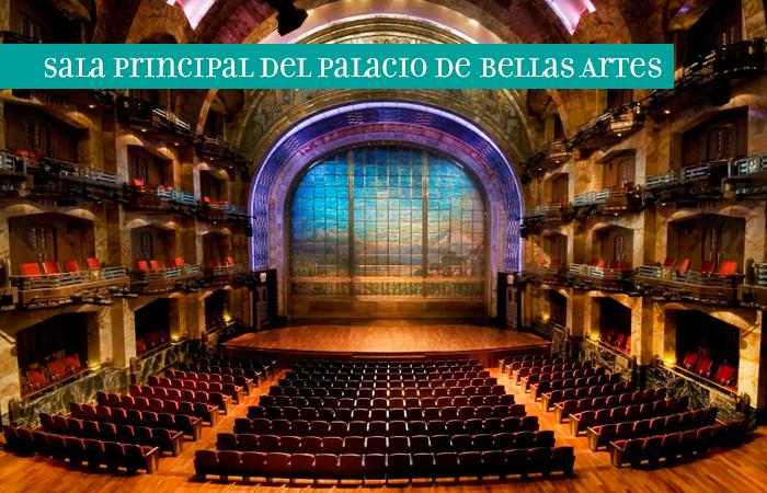 Sala Principal del Palacio de Bellas Artes