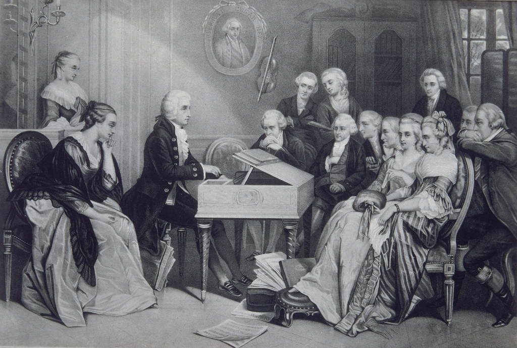 Concierto familiar en viena - biografia de beethoven