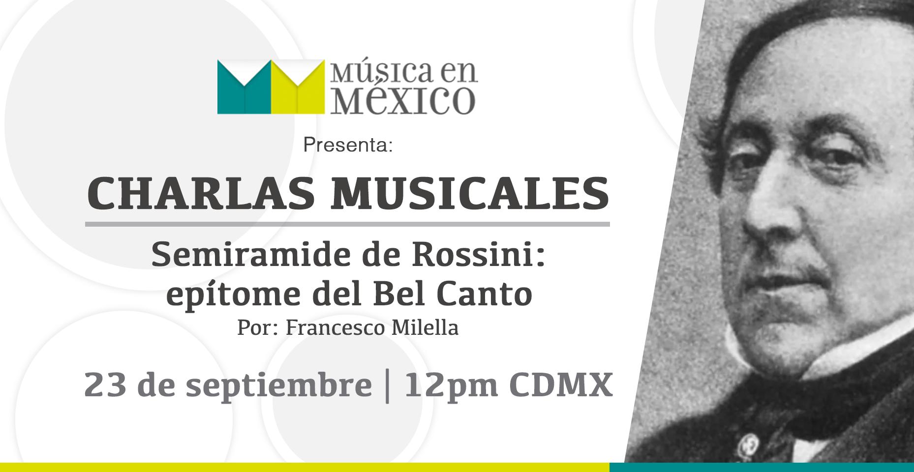Charla Musical 23 de septiembre