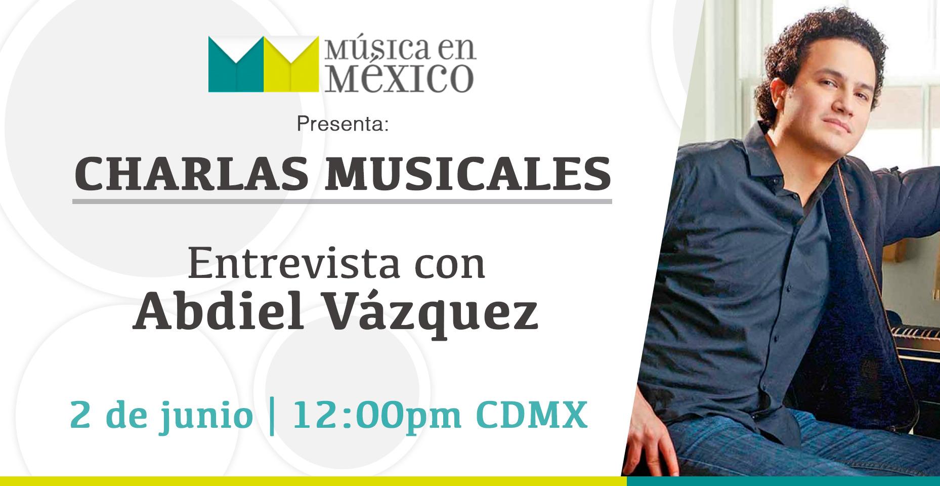 Abdiel Vázquez, entrevista